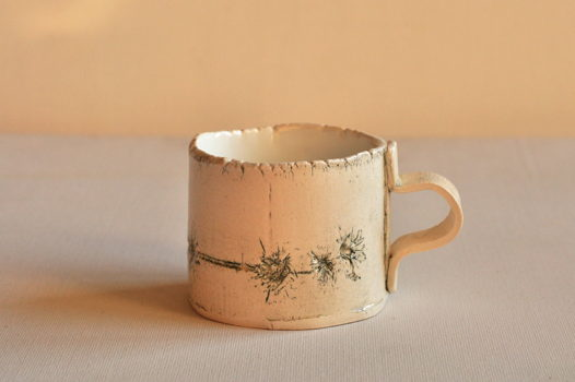 Чашка керамическая Колючка