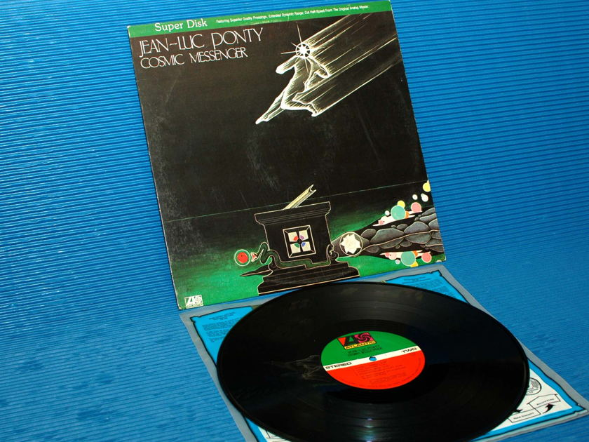 "JEAN-LUC PONTY  - ""Cosmic Messenger"" - Direct Disk Labs 1980"