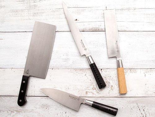 Messermeister Mu Fusion and Mu Bamboo Knives