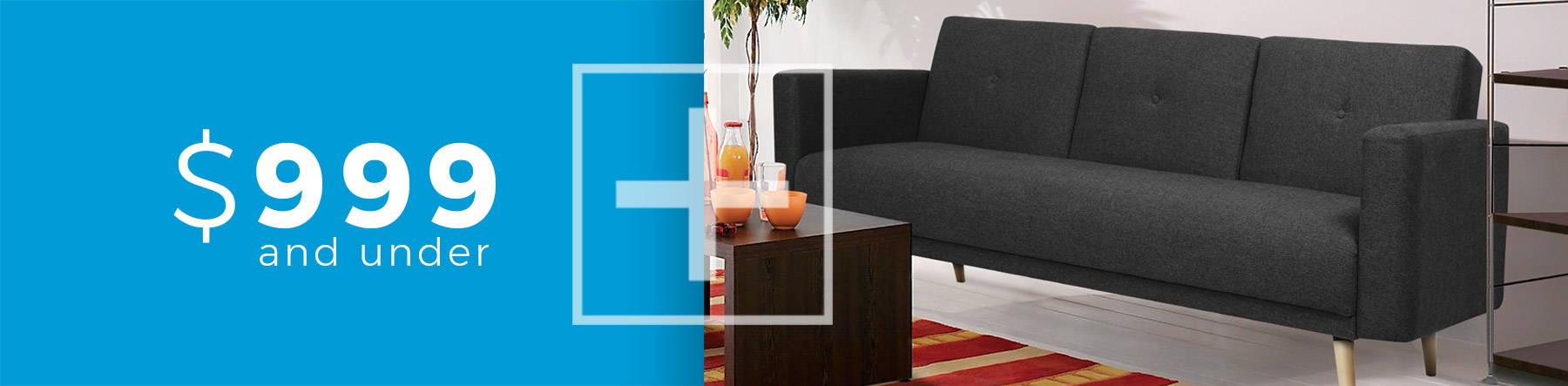 Cheap Sofa Bed Small Space Plus - Toronto