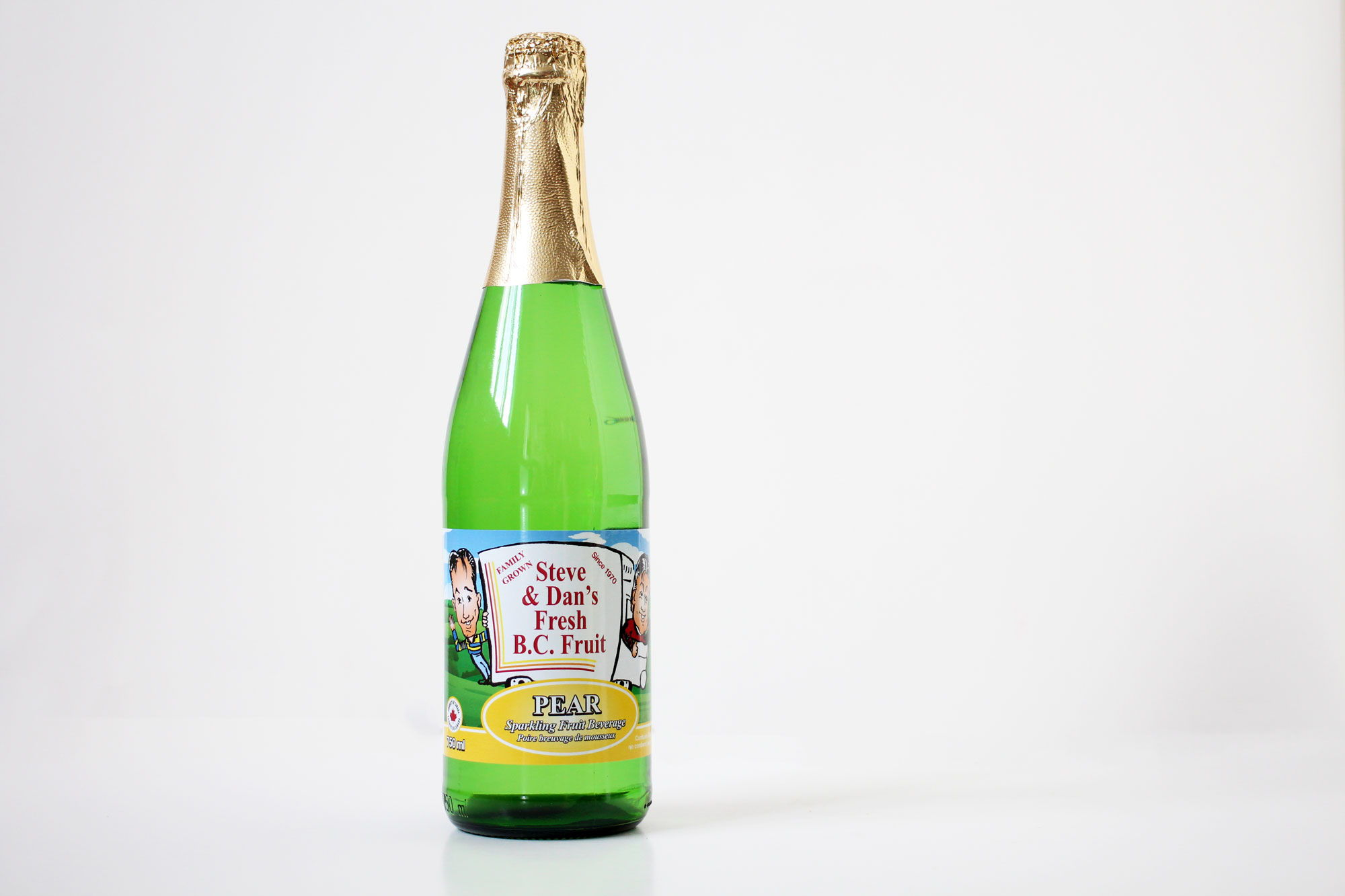Sparkling Pear Juice - Souto Farms Fresh BC Fruit