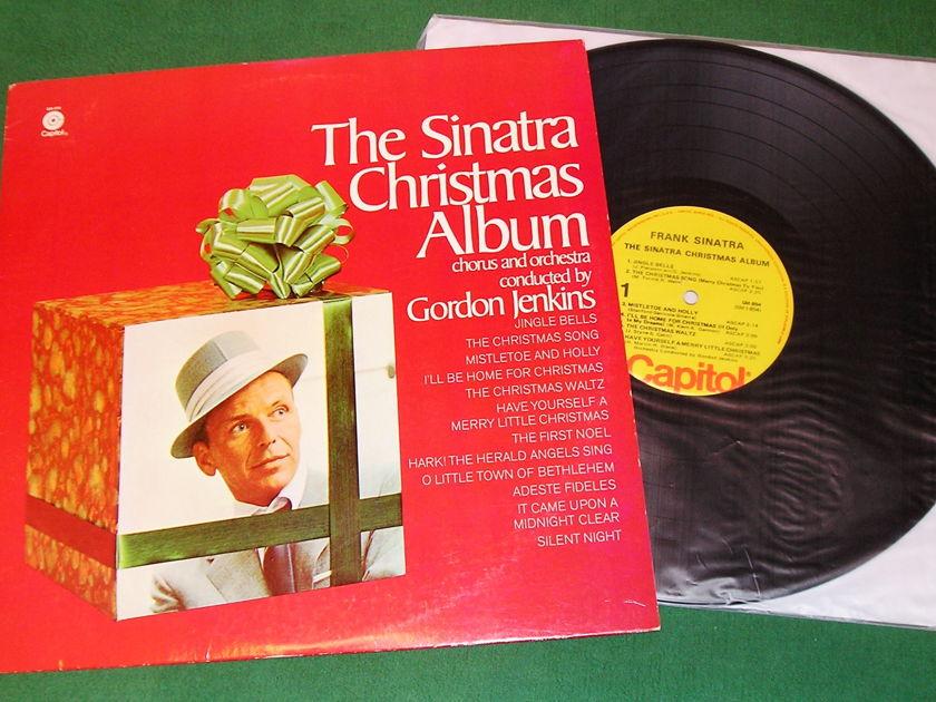 FRANK SINATRA - THE CHRISTMAS ALBUM - * 1975 CAPITOL MONO PRESS - CAP10a LABEL * NM 9/10