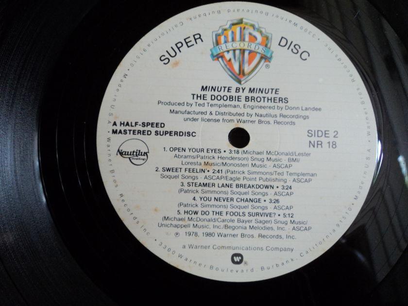 The Doobie Brothers (Half-Speed Mastered) - Minute by Minute Nautilus SuperDisc