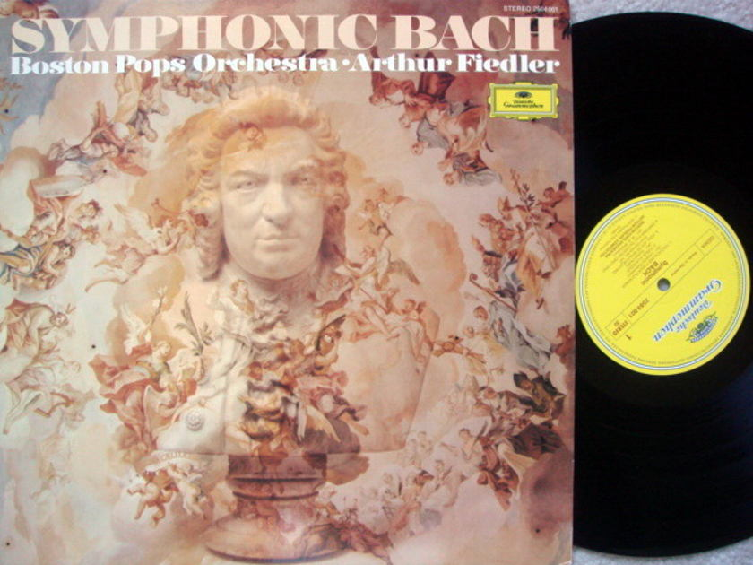 DG / Symphonic Bach, - FIEDLER/BPO, MINT!