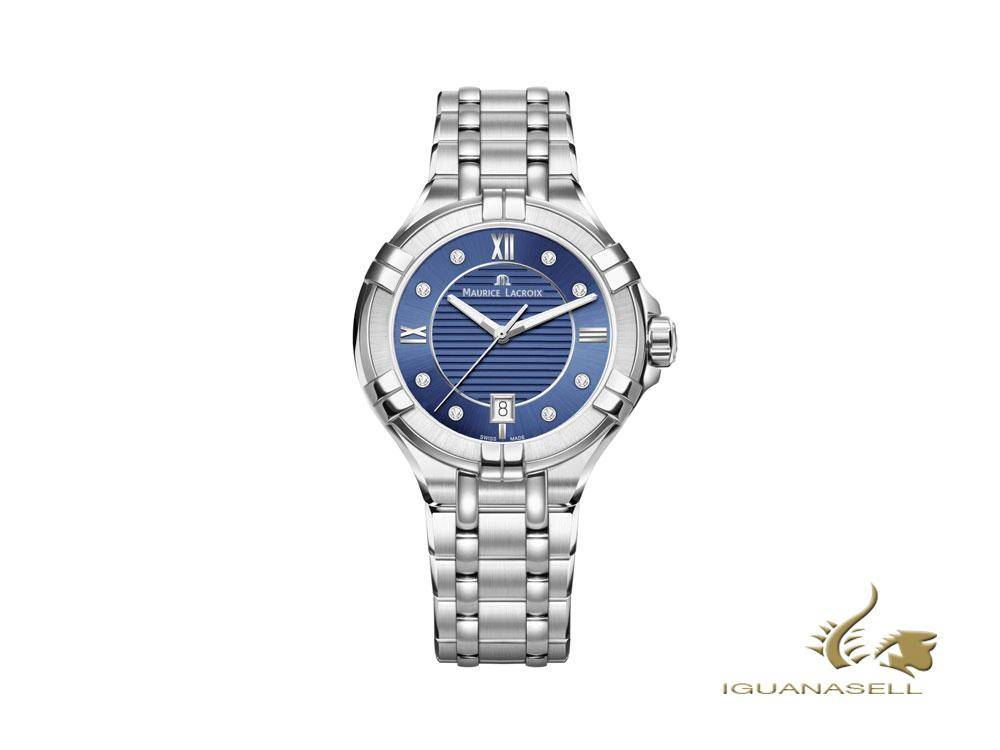 Maurice Lacroix Aikon ladies blue watch