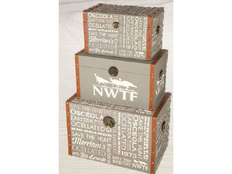 Central Line Set of 3 Trunks with NWTF Graphics