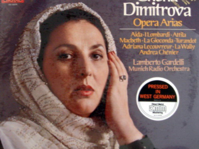 ★Sealed★ EMI Angel Digital / DIMITROVA  - sings Opera Arias, Promo Copy!