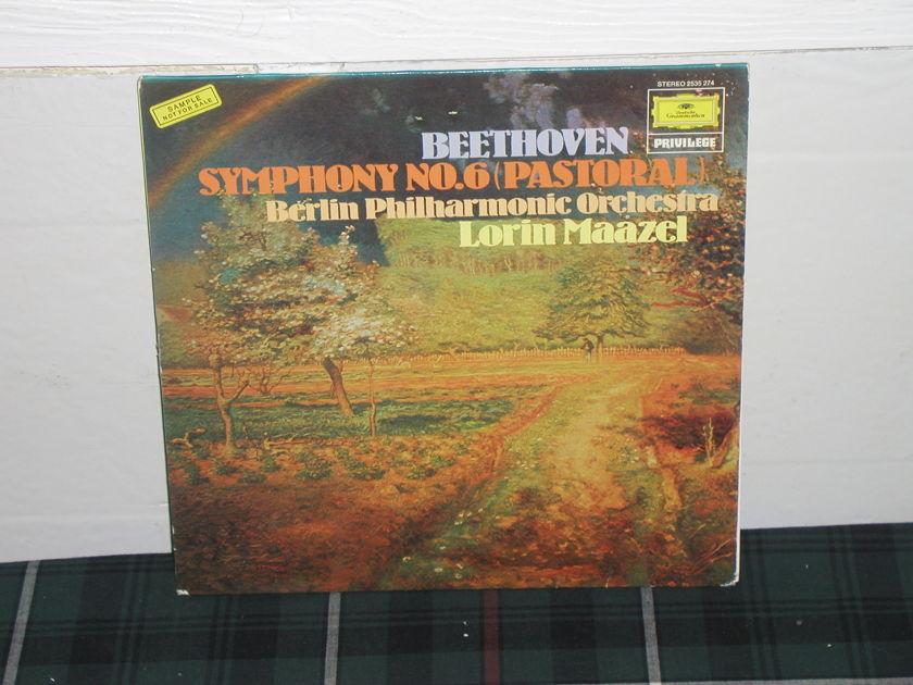 Maazel/BPO - Beethoven Sym 6 DG German import LP