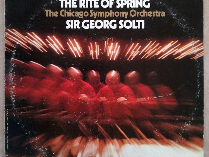 London ffrr   SOLTI/STRAVINSKY - The Rite of Spring / NM