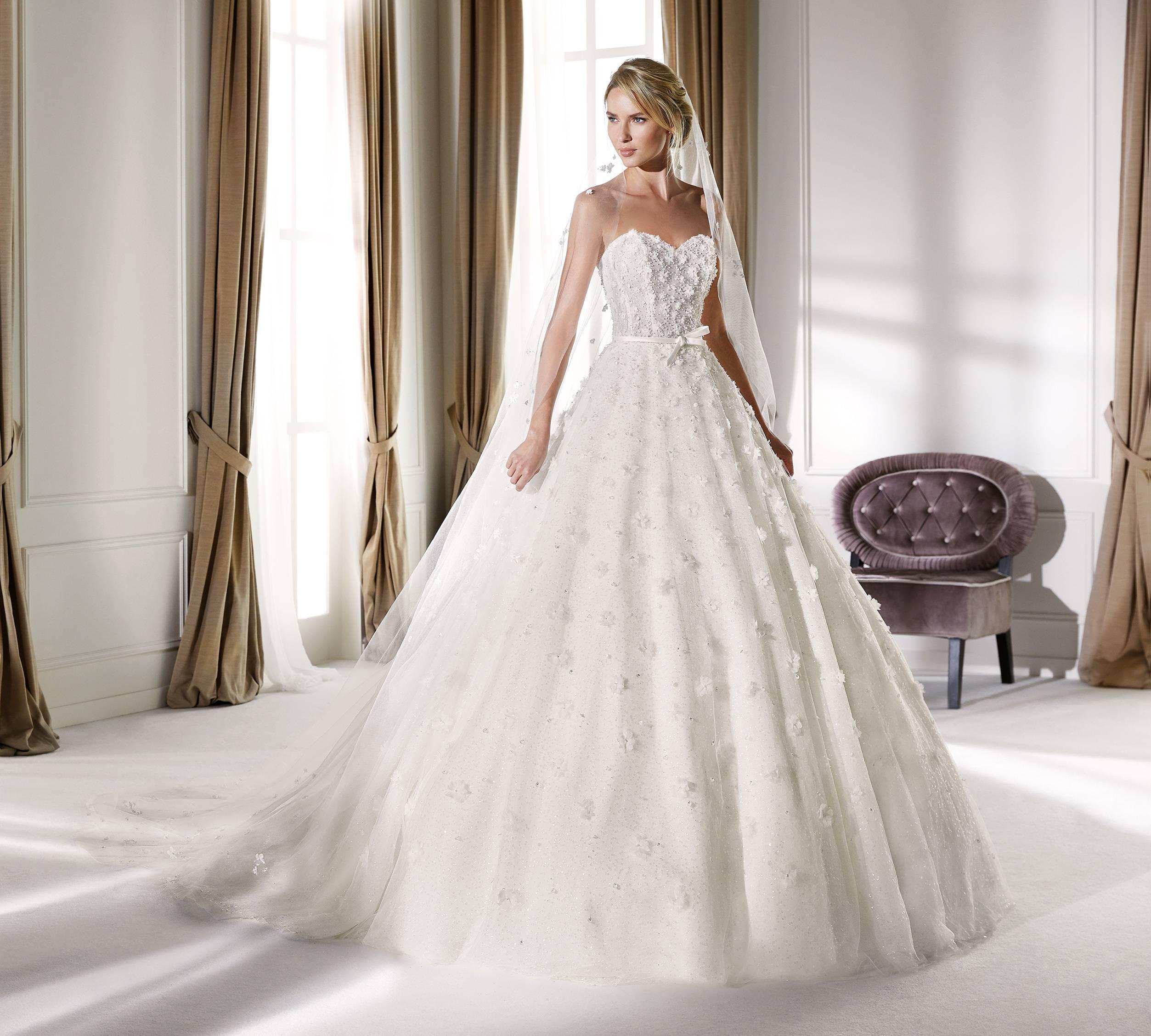 NICOLE MILANO NIA20471 WEDDING DRESS