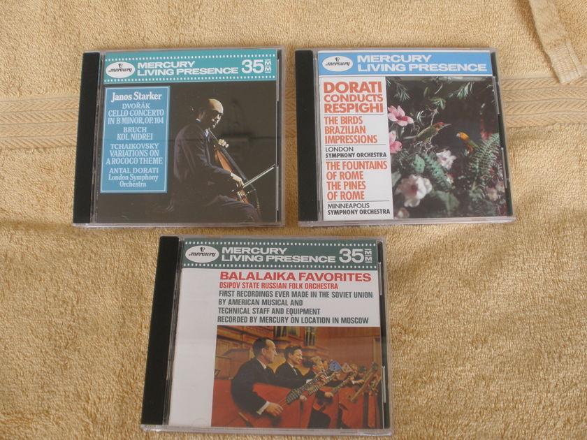 13 - MERCURY LIVING PRESENCE  - CDS 2 SEALED
