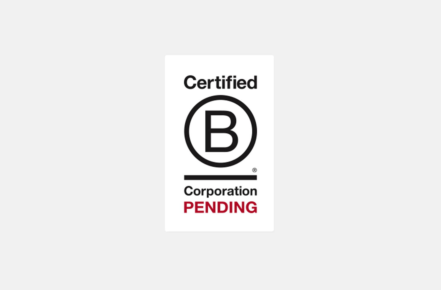 Ozeano B-Corp certification