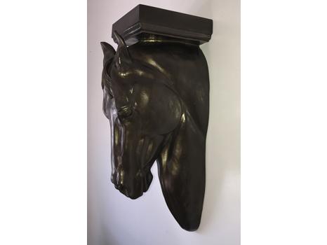 Horse Head Wall Hanging Display Shelf