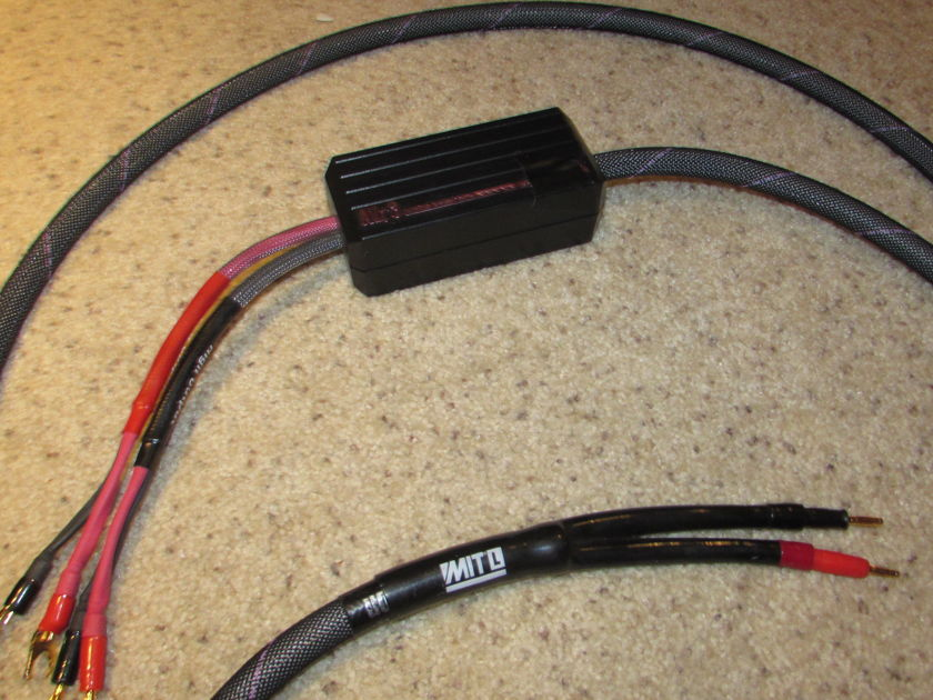 MIT Cables avt3 biwire 12ft  almost free covers shipping, paypal single cable