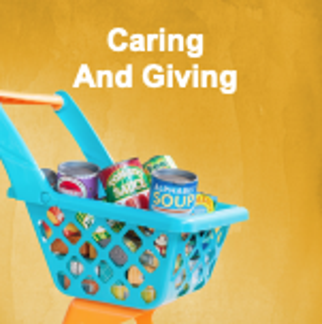 Caring & Giving Graphic