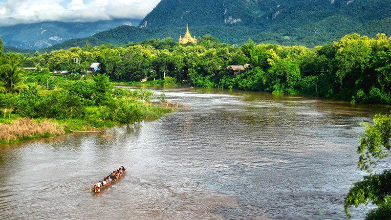 Mae Kok River, Thailand