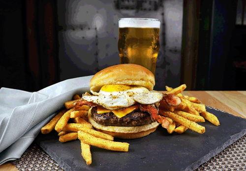 Anti-Resolution Burger