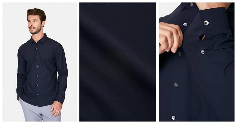 Young Americans 4-Way Stretch Luxseam® Shirt
