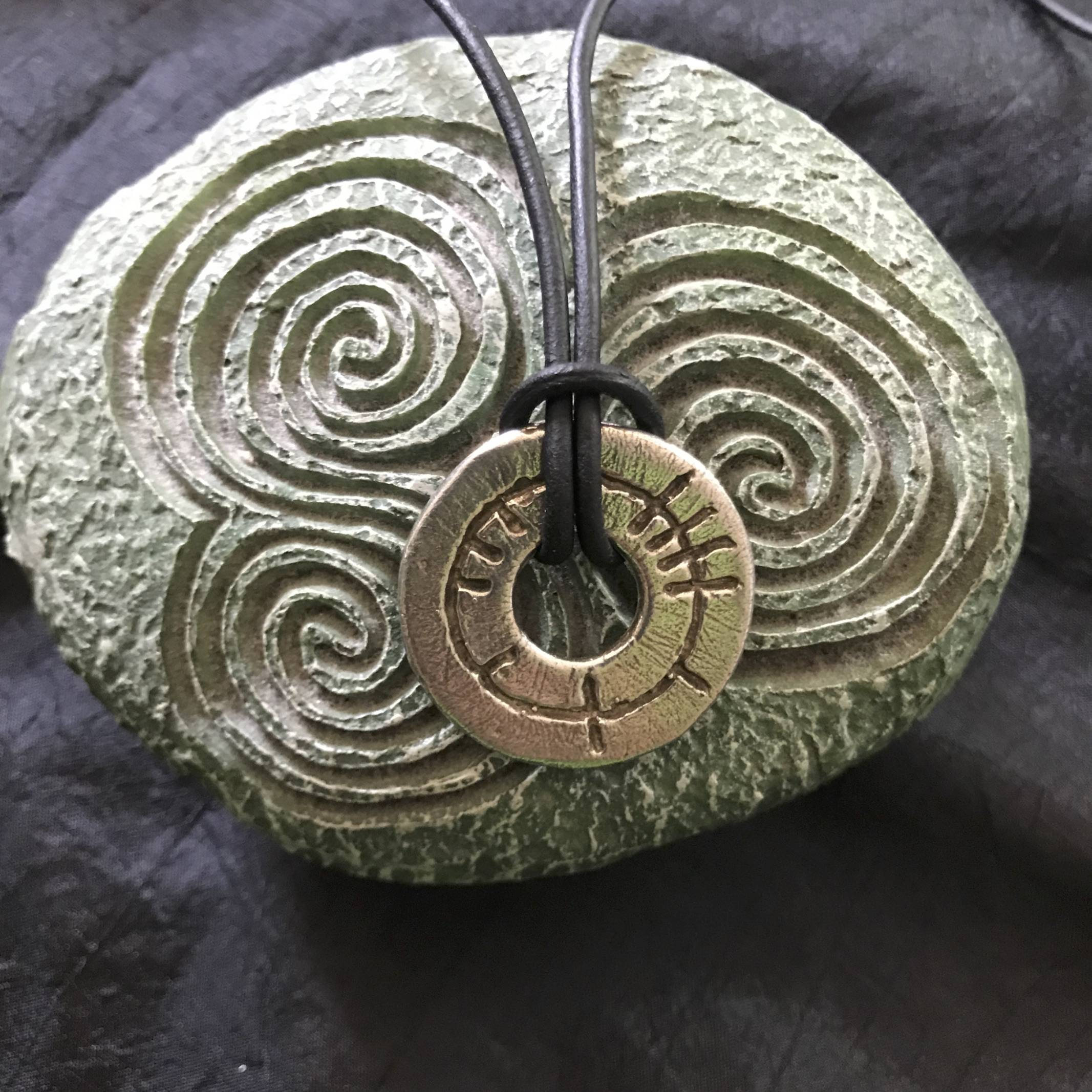 Ogham Art Circle of Life Celtic Festival Online