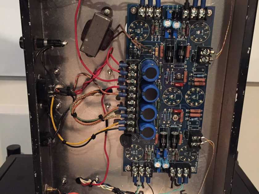 DIY Dynaco ST-35 Nice DIY Amp. EL84