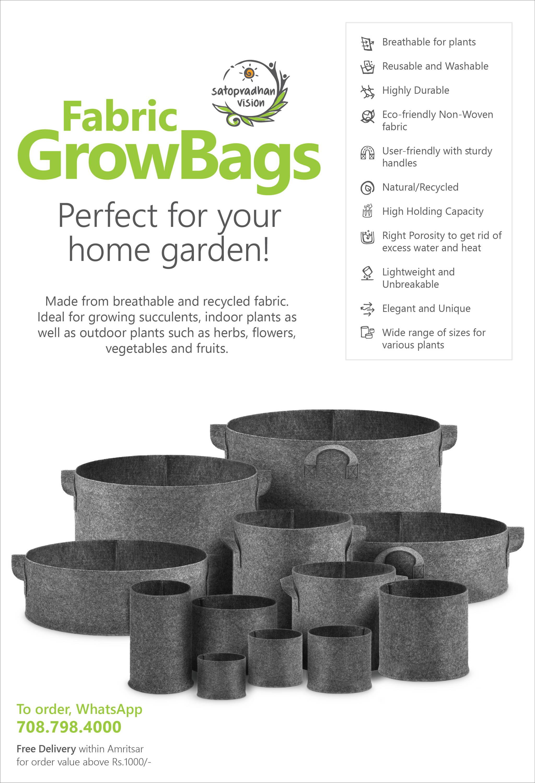 Fabric Grow Bag Fact Sheet