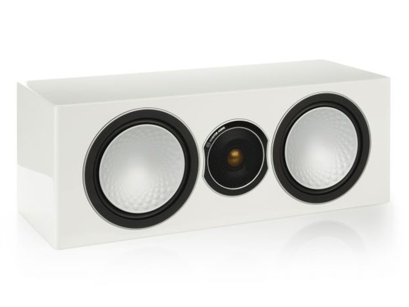 Monitor Audio Silver Center Channel Brand New-in-Box; 5 Yr. Warranty; 30% Off; Free Shipping