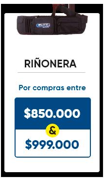 Llévate una riñonera por compras entre 850.000 y 999.000