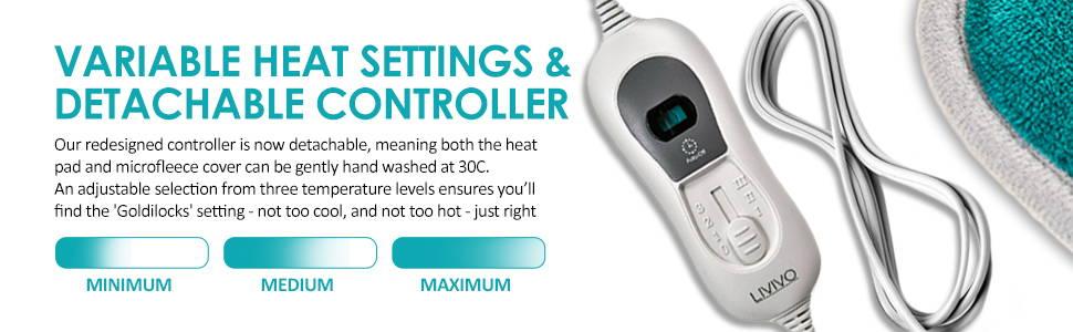 variable heat settings