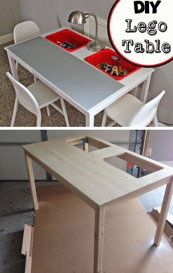diy Ingo lego table