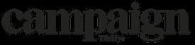 Campaign logo siyah