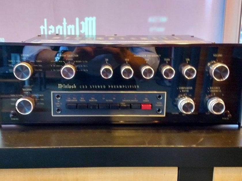 McIntosh C33 Preamplifier Pearl Audio, Portland OR