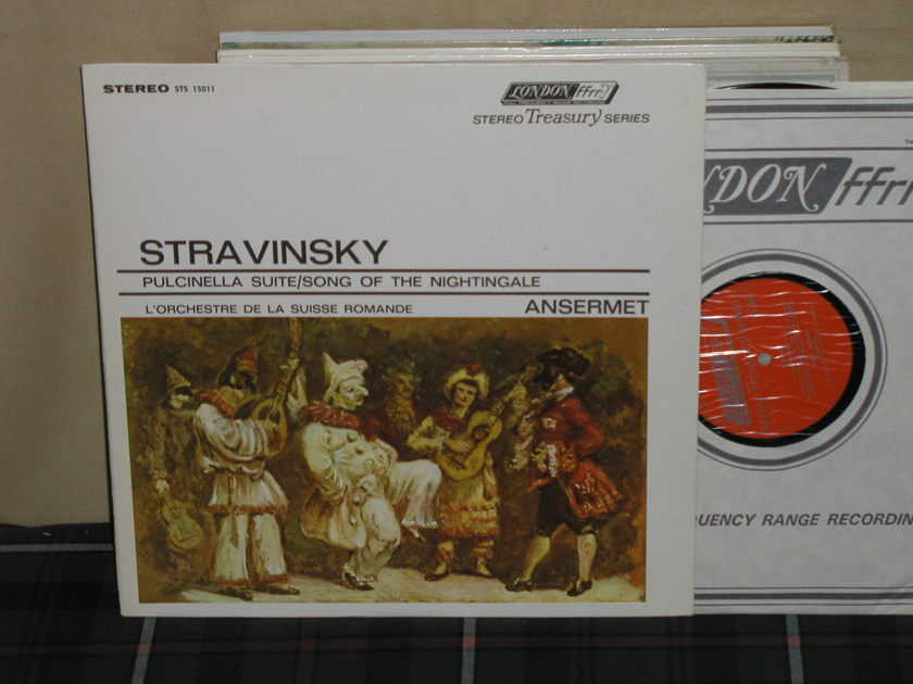 Ansermet/L'OdlSR - Stravinsky Pulcinella London STS 15011 (Thick)