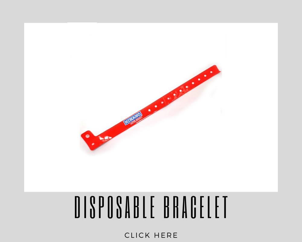 Giveaways Promotional Disposable Bracelet