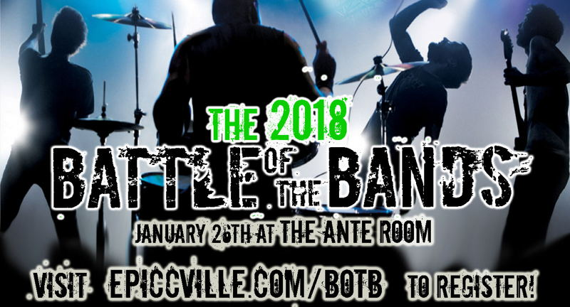 The First Annual 2018 Battle of the Bands