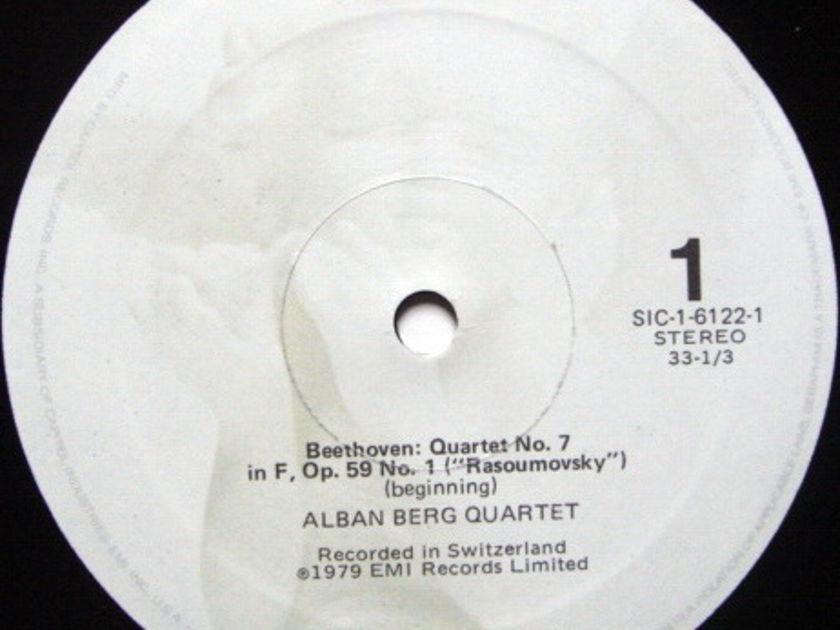 EMI Angel Seraphim / ALBAN BERG QT, - Beethoven The Middle Quartets, NM, 3LP Box Set!