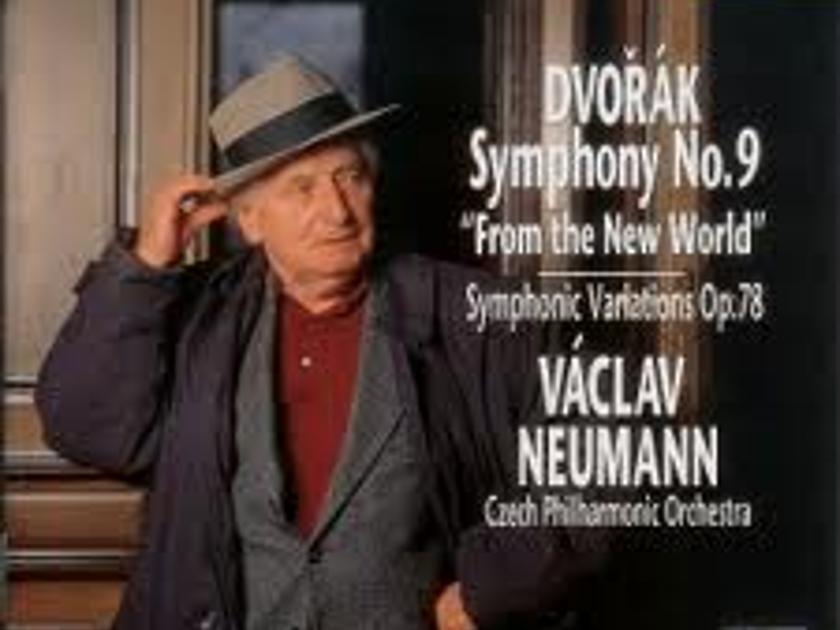 Dvorak Ninth Symphony  - Vaclav Neumann CPO  Canyon very rare import cd