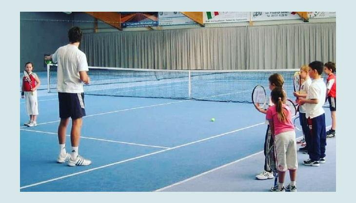 tennisjessen kindergeburtstag spielfeld kinder lernen