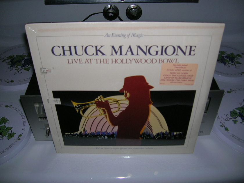 Chuck Mangione- Live at the - Hollywood Bowl-Sealed 1979 A&M Records LP