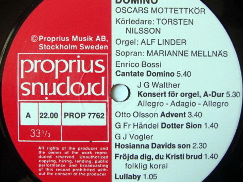 ★Audiophile★ Proprius / NILSSON-LINDER, - Cantate Domino, MINT, TAS LP!
