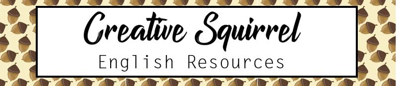 Creative Squirrel English Resources