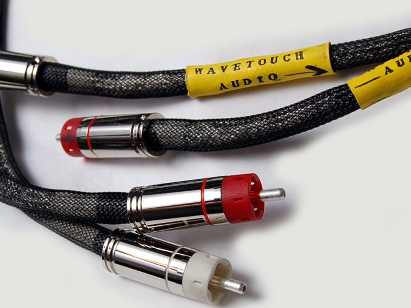 Wavetouch Audio RCA Interconnect cable