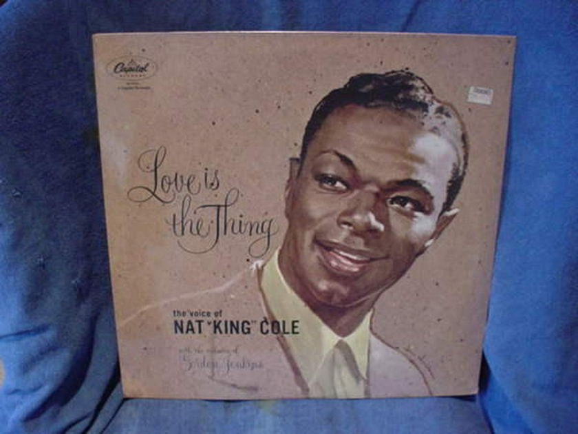 Nat  King  Cole - Love is The Thing capital sn-16163 60's re-issue