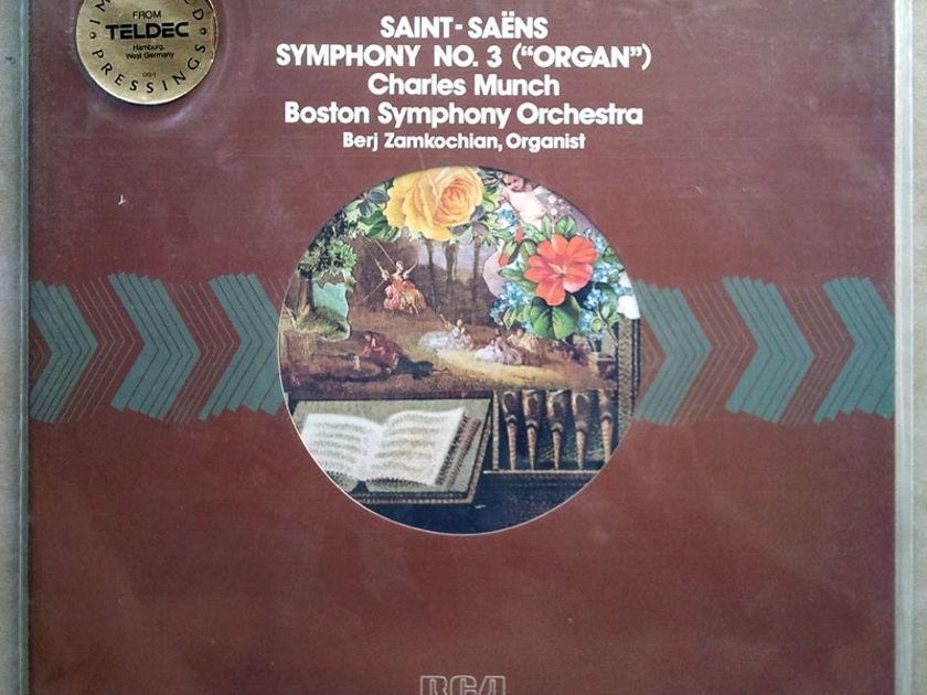 SEALED RCA Half-Speed   MUNCH/SAINT-SAENS - Symphony No.3 Organ / Audiophile German Pressings