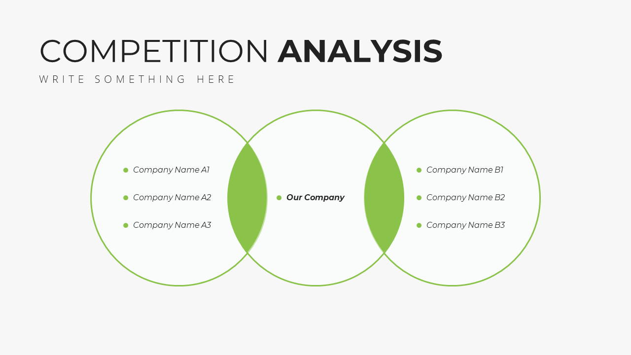 Minimal X Sales Deck Presentation Template Smartphone Competition Analysis