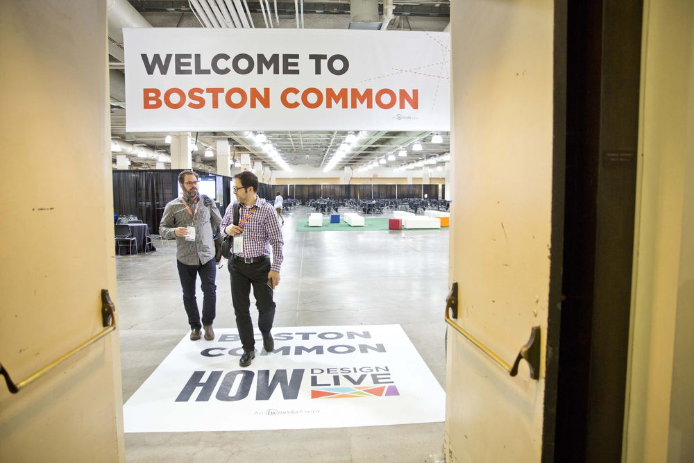 HOW DESIGN LIVE-BOSTON, MAY 12-16, 2014