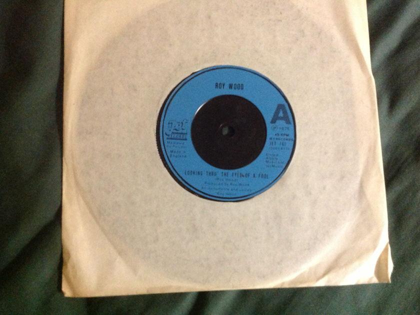 Roy Wood - Looking Thru The Eyes Of A Fool Jet Label UK 45 NM