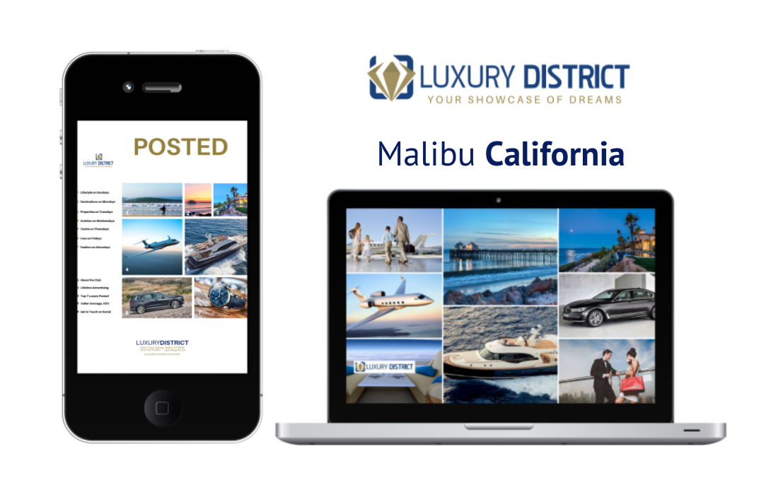 Luxury District Marketing Blockchain