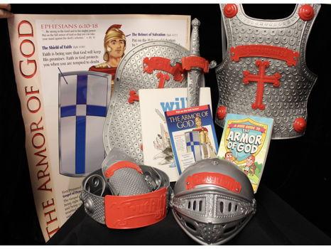 Armor of God Basket