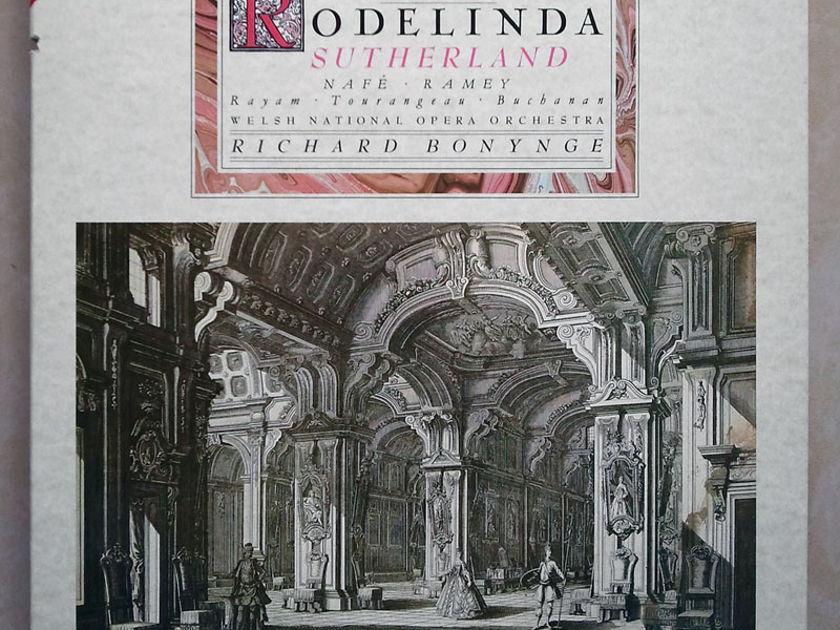 London Digital   SUTHERLAND/BONYNGE/HANDEL - Rodelinda / 2-LP / NM