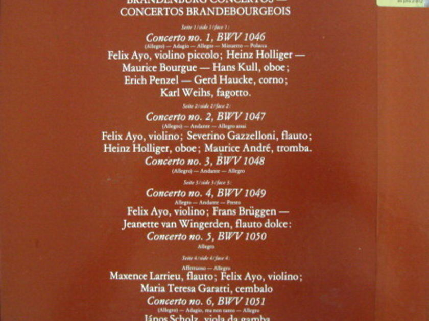 Philips / I MUSICI-AYO-HOLLIGER, - Bach Brandenburg Concertos, MINT, 2LP Box Set!